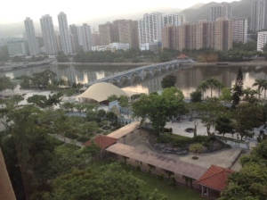 The view from my window in Hong King.